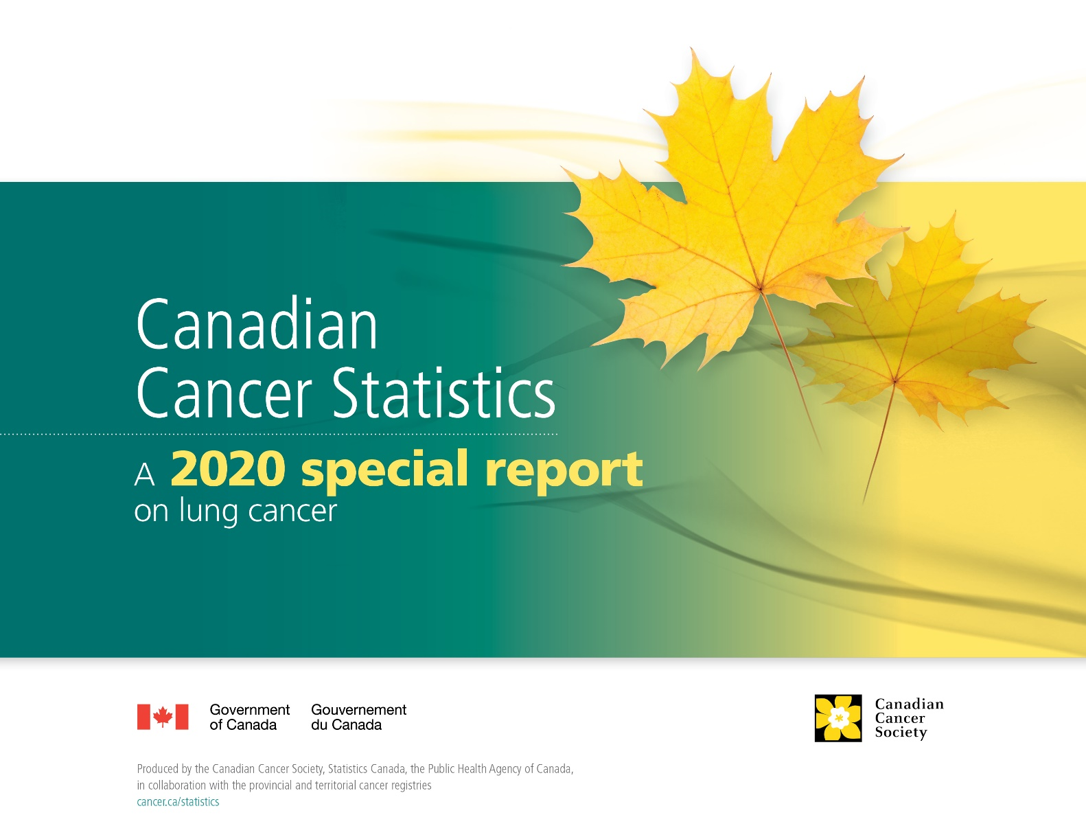 Canadian Cancer Statistics: A 2020 special report on lung cancer